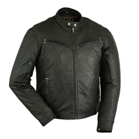 Men's Lightweight Drum Dyed Naked Lambskin