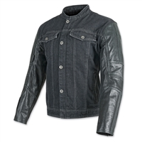 Band of Brothers Leather and Denim Jacket