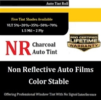NON REFLECTIVE CHARCOAL FILMS