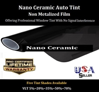 AR Nano Ceramic Films-24 Inch X 100 Feet Roll