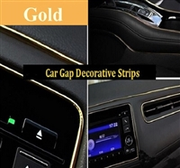CAR DECORATIVE STRIPS-GOLD
