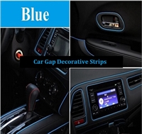 CAR DECORATIVE STRIPS-BLUE