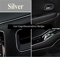 CAR DECORATIVE STRIPS-SILVER