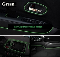 CAR DECORATIVE STRIPS-GREEN