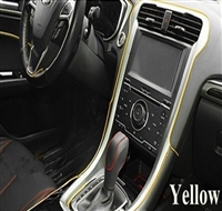 CAR DECORATIVE STRIPS-YELLOW