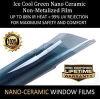 Ice Cool Green Nano Ceramic-60 Inch X 100 Feet Roll