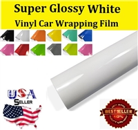 Car Wrapping Film - Super Glossy White (60in X 65ft) Out of Stock