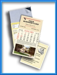 RE71 - TWELVE MONTH REAL ESTATE MAGNETIC CALENDAR (April - March)