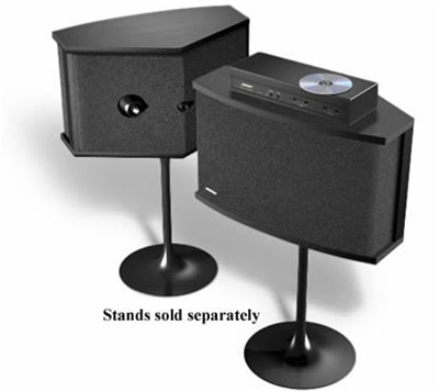 Bose Stereo >> Bose 901 Direct Reflecting Stereo Speakers Floor Standing