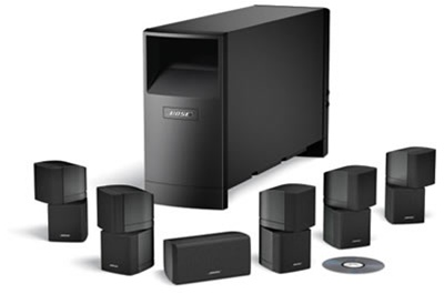 Bose Sound System >> Bose Acoustimass 16 Surround Sound Powered Speakers Thrilling Audio