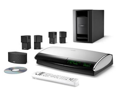 bose lifestyle 48 series iv cd and dvd player surround. Black Bedroom Furniture Sets. Home Design Ideas