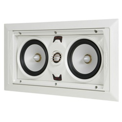 SpeakerCraft® AIM LCR 3 AIMABLE IN-WALL LCR SPEAKER (EACH)
