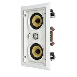 SpeakerCraft® AIM LCR3 Five (Baby AIM) AIMABLE IN-WALL MINI LCR SPEAKER (EACH)