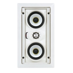 SpeakerCraft® AIM LCR3 Three (Baby AIM) AIMABLE IN-WALL MINI LCR SPEAKER (EACH)