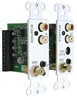 SpeakerCraft® AVX-1.0 A/V and IR Wall Plate System