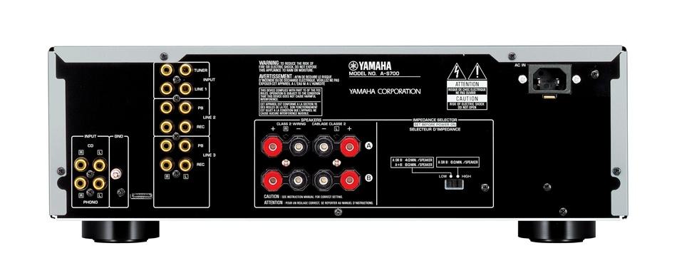 yamaha a s700 custom series hi fi amplifier. Black Bedroom Furniture Sets. Home Design Ideas