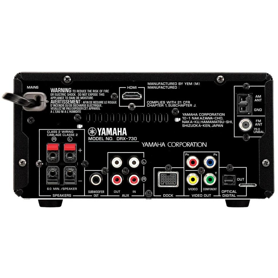 Yamaha Mcr 730 Mini System
