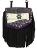 Purple Gator Daisy Marty Hip Bag