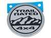 Emblem Trail Rated Silver - 68292505AA