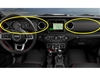 Dashboard Trim Kit - Black Leather / Red Stitching - 6AC261R3AD-6AC241R3AA