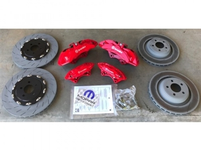 Challenger Mopar Performance Hellcat SRT Brake Kit - 77072382AB