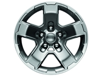 "Wheel 17"" Gear Wheel Satin Carbon - 77072471AB"