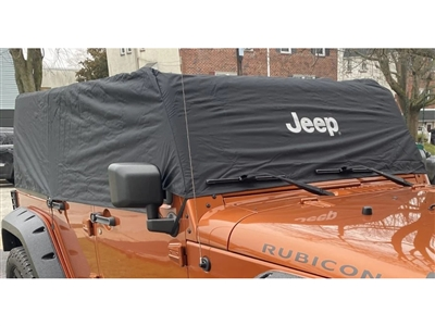 Cab Cover 4 Door Black - 82210323