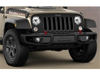 Front Rubicon Steel 3-Piece Bumper - 82213653AB