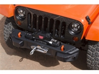 Front Rubicon Steel Stubby Bumper - 82214565AB