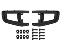 Front Rubicon Steel Stubby Bumper End Caps - 82214754AB