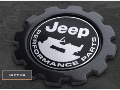 Commander Jeep Performance Parts Badge - 82215764