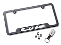 License Plate Frame Gift Set SRT Black - 82215848