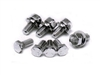 Mopar Performance Chrome Timing Cover Bolt Set - P4452795