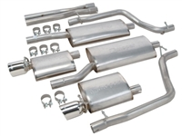 Magnum Mopar Performance Cat-Back Exhaust System - P4510855