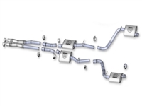 Challenger Mopar Performance Cat Back Exhaust System - P5160040AB
