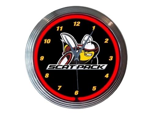 Dodge Neon Clock Scat Pack