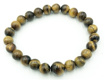 Tiger's Eye Wrist Mala (3 Pack)