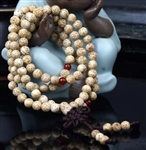 Lotus Seed 108 Bead Buddhist Mala - 7.5-8mm (1 Pack)