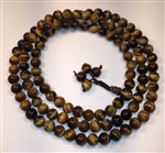 Tiger's Eye 108 Bead Buddhist Mala - Prayer Beads (1 Pack) - NEW