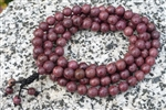Purpleheart Wood 108 Bead Mala Prayer Beads - 8mm (2 Pack)