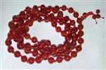 Carnelian Knotted 108 Bead Buddhist Mala - 8mm (1 Pack)