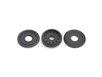 TEAM XRAY Differential Pulley 34T with Labyrinth Dust Covers 305050