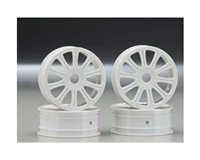 JConcepts Rulux 1:10 RC10B4 Front Wheel 4pcs White 3305