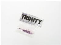 TEAM TRINITY Purple Overhead Springs 12pcs 4396-6