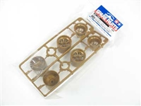 Tamiya F103 Mesh Wheel Set Gold 51350