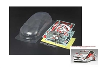 Tamiya 1:10 Honda Civic Type R R3 JAS Motorsport Body Parts Set 51431