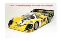 Tamiya RM01 1/12 Porsche 956 Joest Unpainted Body Parts Set 51491