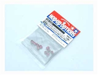 Tamiya 6mm Aluminum Ball Nut Red 53639