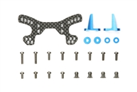 Tamiya DF-03Ra Carbon Front Damper Stay Set 54189