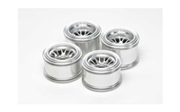 Tamiya F104 Metal Plated Mesh Wheel Set for Rubber Tires 54201
